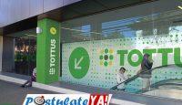 Supermercados Tottus tiene vacantes en Chile