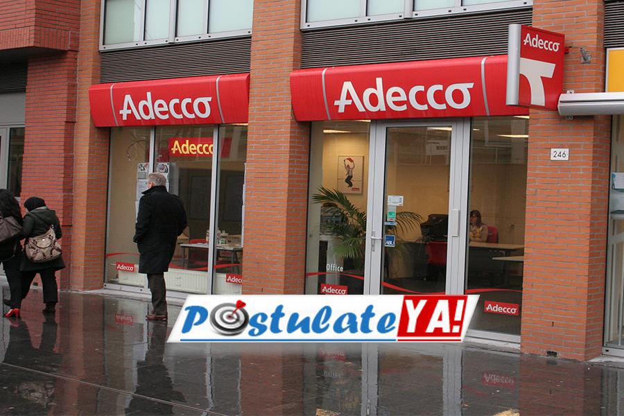 Adecco Tiene Vacantes En Perú y Chile