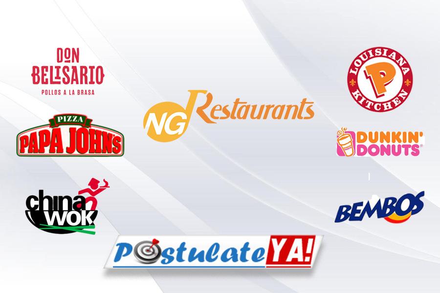 NG Restaurants Tiene Vacantes Disponibles En Perú